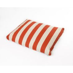 Cabana Dog Pillow Color: Orange, Size: Medium (36' L x 29' W) * Additional details at the pin image, click it  : Pet dog bedding