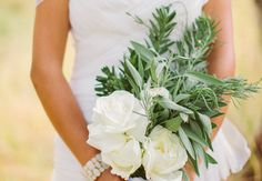 READ -- 15 Herb Bouquets & What They Symbolize // Photo: Cluney Photography