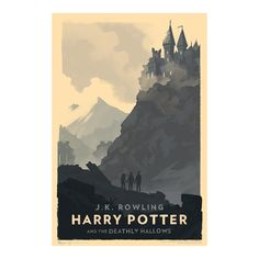 Olly Moss and Harry Potter, together again. No need to pinch yourself; it's really happening. Moss has a distinct style, and he applied it when he created covers for the Harry Potter eBooks and he's done it again with these images he created in collaboration with Pottermore. He revisited the Wizarding World to design covers for the re-release of the German Harry Potter audio books; the designs were commissioned by Pottermore. Moss turned the audio bookcovers into prints for the entire Harry…