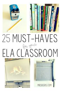 ELA classroom resources and must haves Middle School Ela, Middle School Classroom, Middle School English, Future Classroom, 10th Grade English, High School Writing, Ap English, 7th Grade Classroom, 8th Grade Ela