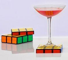 Porta copos Cubo mágico (Cubo Rubik)
