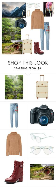 """Places i want to travel: New Zealand"" by bruna-love13 on Polyvore featuring moda, Bric's, Gucci, Eos, Valentino, Wildfox, Snö Of Sweden, travel, dreams e newzealand"
