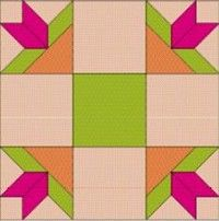 Mexican Star free quilt block pattern from Quilt Life magazine. Link on page to 9 pages of free blocks. Thanks Quilt Life!