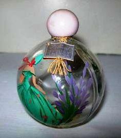 "GIRL in GREEN, Redleaf English Lavender, 3 1/2"" high"