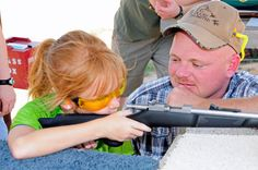 National Take Your Daughter to The Range Day ~ What a GREAT way to spend Father's Day weekend! Fathers Day Weekend, Alpha Sigma Alpha, Free State, Cheap Accessories, Guns And Ammo, Child Safety, Firearms, Weapon, Survival