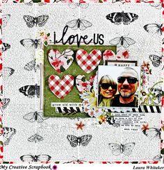 i love us - Scrapbook.com Laura Whitaker, My creative Scrapbook