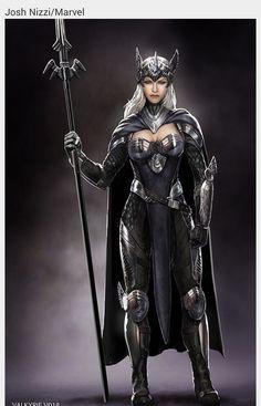 Valkyrie, Marvel comics.