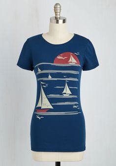 6a69d30ca1 All s Fair in Love and Wharf Tee. Feel like youre sailing off into the  sunset