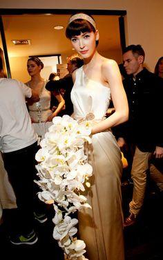 Carolina Herrera Spring 2013 Bridal Behind-the-Scenes