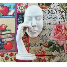 Ağlayan Mask Boyutlar: 28x13cm Fiyat: 25TL http://ift.tt/1r2jd5C #polyesterbiblo #polyestersurat #aglayanmaske #polyestermask #hobi #boyama