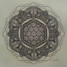 Mandala with DNA in it. #EDS_Mandala?More Pins Like This At FOSTERGINGER @ Pinterest