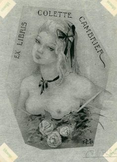 Bookplate by Jean Morisot