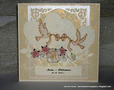 ewinkowecięcie-gięcie cd: Róże , róże ,róże i ślub ........
