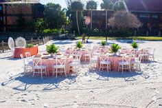 Disney Fairy Tale Wedding Reception on Luau Beach
