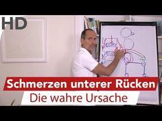 Rückenschmerzen unterer Rücken - Ursache & Lösung - YouTube