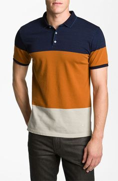 MARC BY MARC JACOBS Colorblock Polo