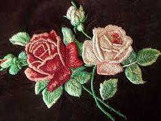 Картинки по запросу вышивка гладью цветов
