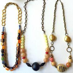 Statement necklaces choose one visit KerenFleaStyle.etsy.com #necklaces #chic #fashionblogger