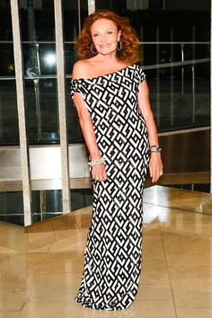 Diane in a custom DVF gown at the 2015 CFDA Awards http://on.dvf.com/1FX8Sei