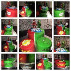 Cake Arrow et the Flash People Convention. Choco praline et vanille