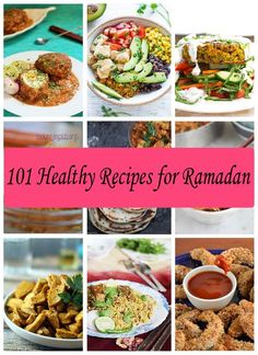 You need good food at Suhoor and Iftar meals. Here you can find more than 100 Easy and Healthy Recipes for Ramadan Fasting. These recipes will save your time.