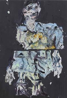 Wir fahren aus (We're off): Georg #Baselitz Wir fahren aus (We're off) #London #WhiteCube @_WhiteCube #painting #arts Bad Painting, Figure Painting, Louisiana Museum, Human Figure Drawing, Life Drawing, Socialist Realism, Art Database, True Art, Dom