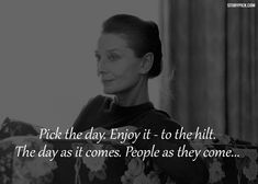10 Inspirational Quotes By The Exquistely Iconic, Audrey Hepburn