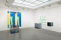 REFLECTION Larry Bell, Anne Collier, Bernard Piffaretti - Exhibition - Andrea Rosen Gallery