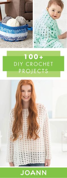 Why buy it when you could make it yourself? This collection of 100+ DIY Crochet Projects from JOANN has all the tutorials you need to learn how to make everything from home decor to outfit accessories. You're sure to love how unique each homemade piece is.