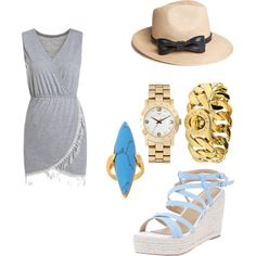 Designer Clothes, Shoes & Bags for Women Summer Chic, Polyvore Fashion, Marc Jacobs, Outfit Ideas, Shoe Bag, Rose, Stuff To Buy, Outfits, Accessories