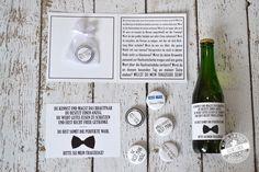 Willst du mein Trauzeuge sein? Für die Männerwelt - frag deinen Trauzeugen mit einem passenden Bieretikett und den dazu passenden Button - Feenstaub.at