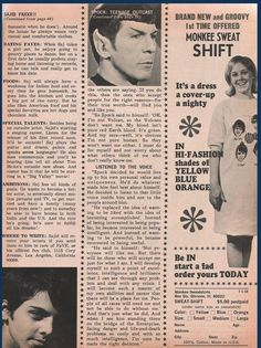"Nimoy wrote to the young girl that Spock ""decided he would live up to his own personal value and uniqueness."""