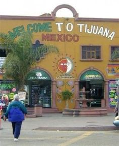 Tijuana, Mexico - OUR kids' first trip out of the country