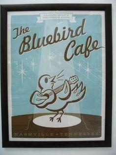 Bluebird Cafe, Nashville  Tennessee