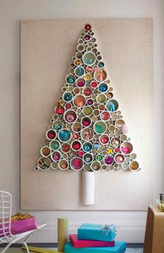 Unconventional DIY Christmas Trees That Will Keep You Off The Naughty List - DontPayFull