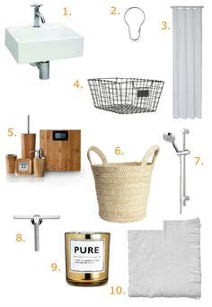 Low-budget badkamer in Scandinavische stijl Roomed | roomed.nl