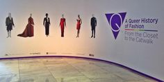 "The current exhibition at the Fashion Institute of Technology in New York ""A Queer History of Fashion: From the Closet to the Catwalk"" explores the LGBTQ community contribution to fashion from the 18th-century England to the present-day America. It is the first museum exhibition to explore in depth the significant contributions to fashion made by #LBTQ individuals over the past 300 years. #gaycommunity #queer #fashion #FIT #Versace #YSL #Chanel #Hollywood #Warhol #JeanPaulGaultier"
