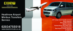Cheap Airport Taxis Service - BestMinicab