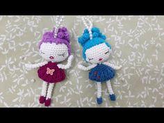 Crochet Doll Pattern, Crochet Patterns Amigurumi, Amigurumi Doll, Crochet Dolls, Crochet Hats, E Craft, Craft Work, Crochet Videos, Small Gifts