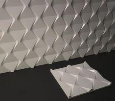 Plastic mold for decor wall panels 16 for plaster