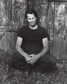 Sam Shepard  Even when Sam Shepard is photographed in color—standing next to another actor or maybe his longtime companion, Jessica Lange—he...