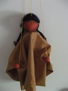 A brief tutorial for a simple Waldorf style puppet. Last year, Anya made one in school, and I made one as a Parent Night activity. They are truly delightful and allow for so much imaginative play!