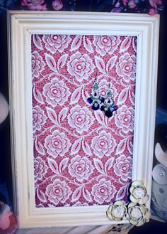 Lace earring Holder