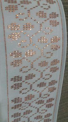 Sevim caner tel kırma. Bed Runner, Weaving Patterns, Blackwork, Needlework, Beads, Art, Dresses, Templates, Table Toppers