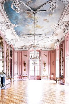 WedLuxe – InstaLove: #WedLuxeTrending Oyster Pink | via This is Glamorous  Follow @WedLuxe for more wedding inspiration!