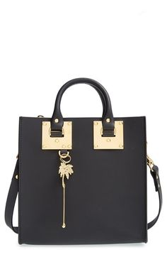 Sophie+Hulme+Leather+Box+Tote+available+at+#Nordstrom bag