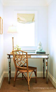 DIY Idea: Bronze Spray Painted Chair...