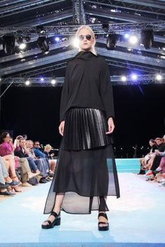 VIAMODA - Galeria: Sopot Art&Fashion Week Fashion Art, Tulle, Ballet Skirt, Skirts, Tutu, Skirt, Skirt Outfits, Dress