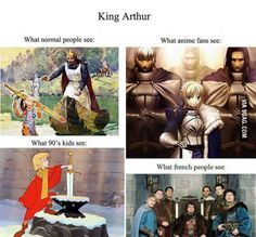 Arthur, king of the Brittons!
