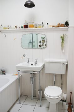 Smart Solutions for Small Bathrooms  Apartment Therapy Video Roundup